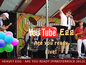 Heavey Egg Live - Are you ready - Thin Lizzy, Pinksterrock 2012 Wolvega